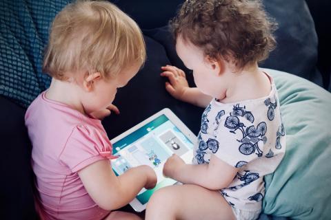 Babies and ipad