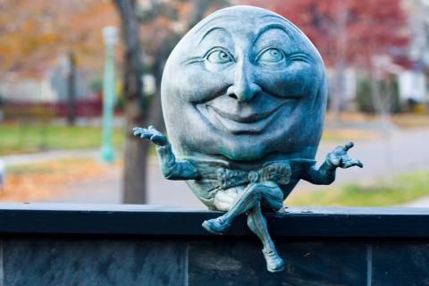 Humpty Dumpty - rhythm and rhyme