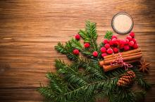 Natural eco Christmas decorations