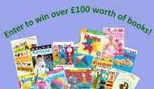 win over £100 worth of pre-school learning alliance books for parent and toddler