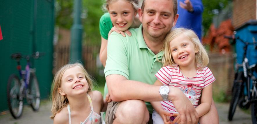happier parent, happier child/children