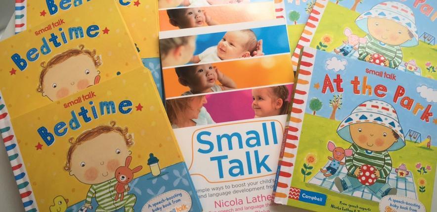 Small Talk speech development books
