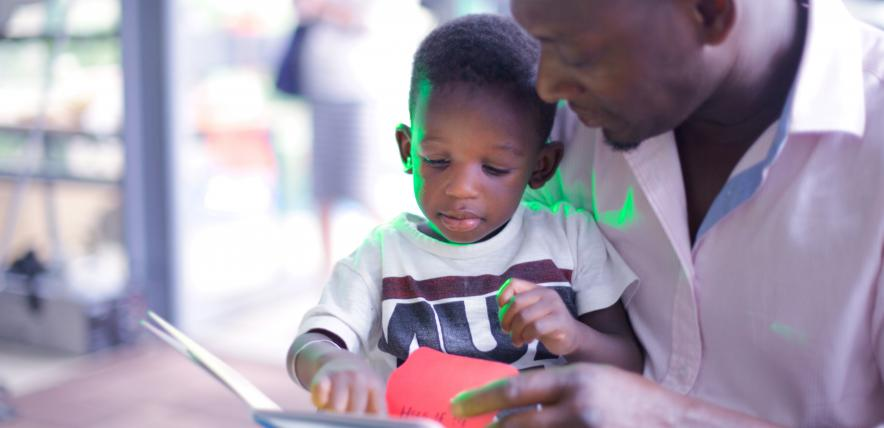 read it again, repeat reading, read with your child